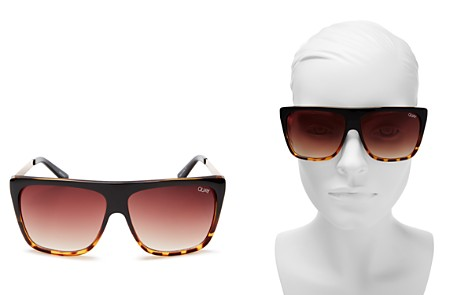 Quay OTL II Square Sunglasses, 56mm - Bloomingdale's_2