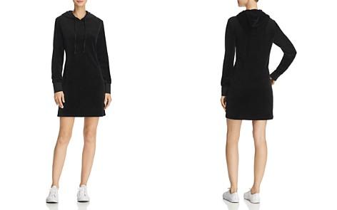 Juicy Couture Black Label Velour Hooded Sweatshirt Dress - Bloomingdale's_2