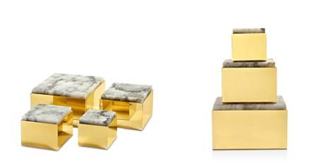 ANNA new york by RabLabs Metal Scatola Box, Medium - Bloomingdale's Registry_2