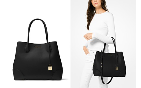 MICHAEL Michael Kors Mercer Gallery Snap Large Leather Tote - Bloomingdale's_2