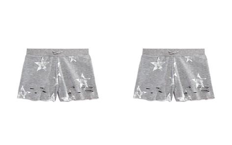 Flowers by Zoe Girls' Distressed Star-Print Shorts - Little Kid - Bloomingdale's_2