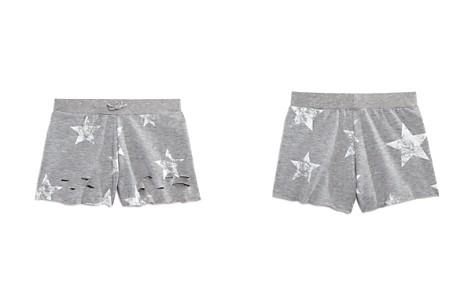 Flowers by Zoe Girls' Distressed Star-Print Shorts - Big Kid - Bloomingdale's_2