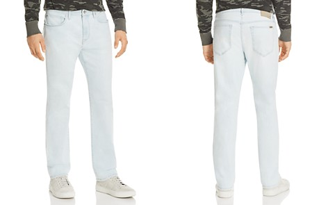Joe's Jeans Gilbert Brixton Straight Fit Jeans in Light Blue - 100% Exclusive - Bloomingdale's_2
