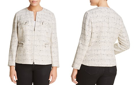 Lafayette 148 New York Plus Emelyn Tweed Jacket - Bloomingdale's_2