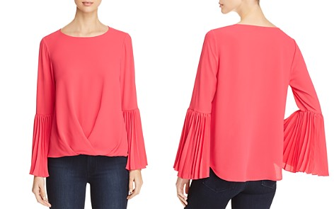 VINCE CAMUTO Pleat Detail Top - 100% Exclusive - Bloomingdale's_2