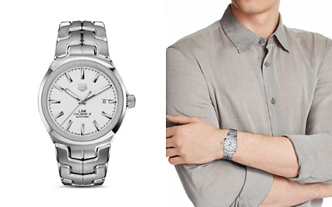 TAG Heuer Link Calibre 5 Watch, 41mm - Bloomingdale's_2
