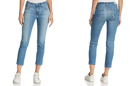 AG Prima Crop Jeans in 12 Years Canyon Blue - 100% Exclusive - Bloomingdale's_2