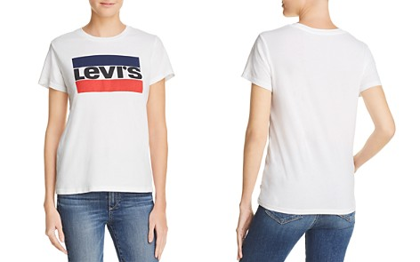 Levi's The Perfect Logo Graphic Tee - Bloomingdale's_2