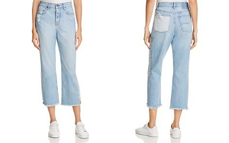 Nobody Arlo Straight Ankle Jeans in Tuxedo - Bloomingdale's_2
