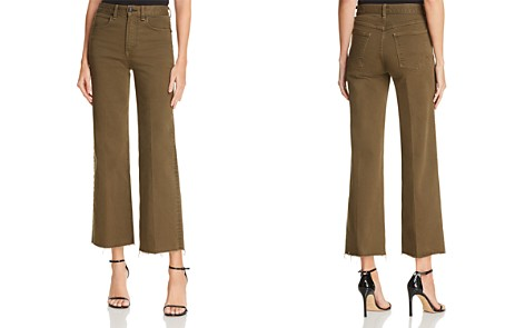 rag & bone/JEAN Justine Ankle Trouser Jeans in Army - 100% Exclusive - Bloomingdale's_2