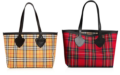 Burberry Medium Giant House Reversible Tote in Vintage Check - Bloomingdale's_2