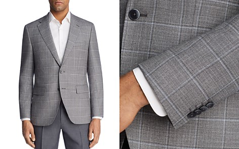 BOSS Jewels Regular Fit Windowpane Sport Coat - Bloomingdale's_2