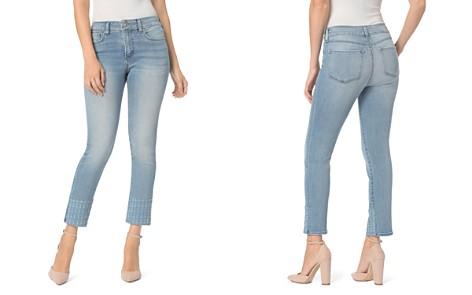 NYDJ Sheri Slim Embroidered-Hem Ankle Jeans in Dreamstate - Bloomingdale's_2