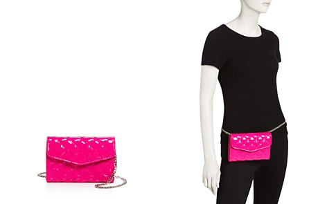 Street Level Patent Convertible Quilted Belt Bag - Bloomingdale's_2