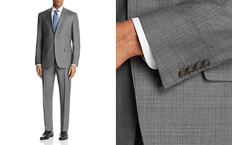 Canali Plaid Regular Fit Suit - Bloomingdale's_2