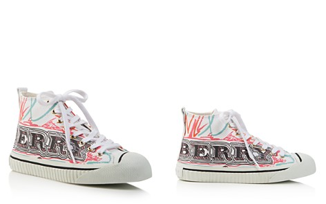 Burberry Women's Kingly Printed High Top Lace Up Sneakers - Bloomingdale's_2