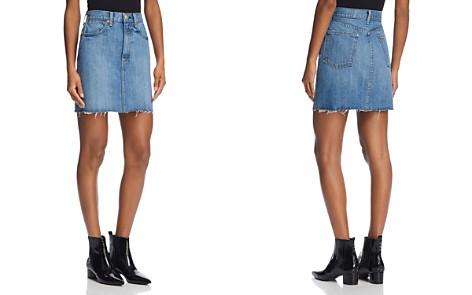 rag & bone/JEAN Moss Raw-Edge Denim Skirt - Bloomingdale's_2