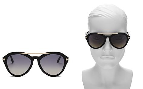 Tom Ford Lisa Gradient Aviator Sunglasses, 54mm - 100% Exclusive - Bloomingdale's_2