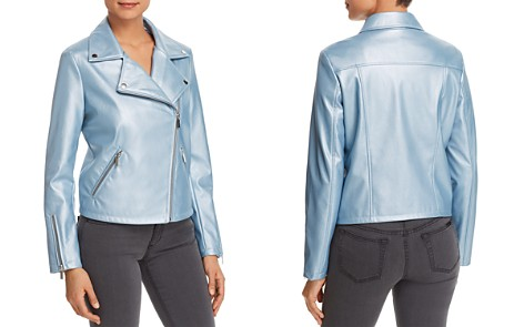 Bagatelle Metallic Faux-Leather Moto Jacket - Bloomingdale's_2