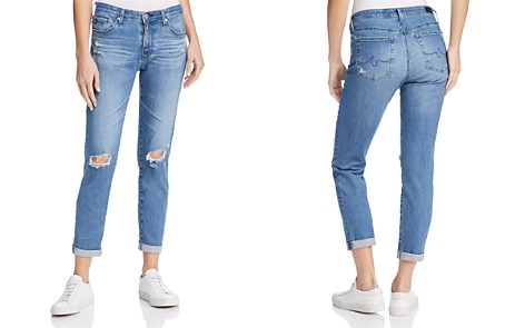 AG Prima Roll Up Jeans in Sea Sprite Destructed - 100% Exclusive - Bloomingdale's_2