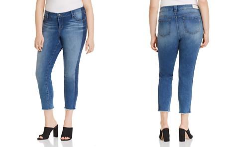 SLINK Jeans Frayed Cropped Skinny Jeans in Gwen - Bloomingdale's_2