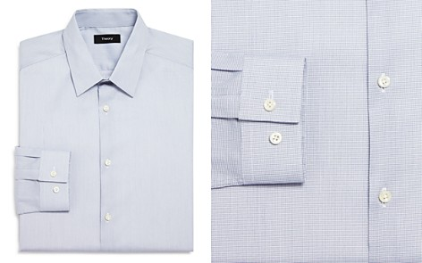 Theory Micro Grid Slim Fit Dress Shirt - Bloomingdale's_2
