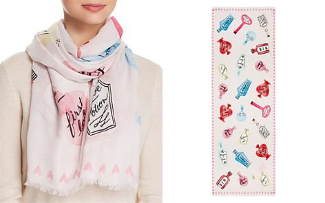 kate spade new york Love Potion Oblong Scarf - Bloomingdale's_2