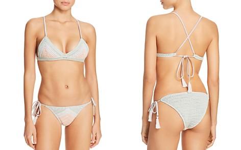 Suboo Sage Chevron Bralette Bikini Top & Chevron Bikini Bottom - Bloomingdale's_2