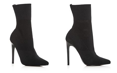 AQUA Women's Cento Stretch High Heel Sock Booties - 100% Exclusive - Bloomingdale's_2