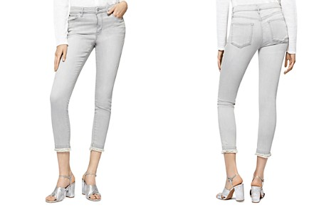 Sanctuary Cropped Raw-Hem Jeans in Greyson - Bloomingdale's_2