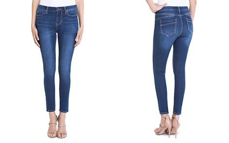 Liverpool Piper Skinny Ankle Jeans in Dark Blue - Bloomingdale's_2