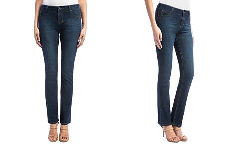 Liverpool Remy Straight-Leg Jeans in Dark Blue - Bloomingdale's_2