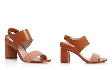 Stuart Weitzman Women's Erica Suede & Leather Block Heel Sandals - Bloomingdale's_2