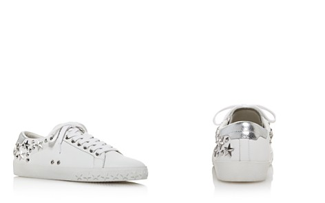 Ash Women's Dazed Star Studded Leather Lace Up Sneakers - Bloomingdale's_2