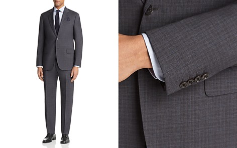 Emporio Armani Tonal Check Regular Fit Suit - Bloomingdale's_2