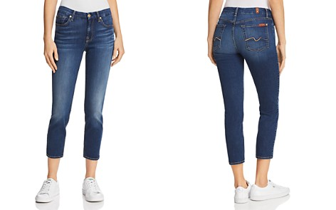 7 For All Mankind Kimmie Crop Jeans in Duchess - Bloomingdale's_2