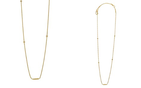 "LAGOS Caviar Gold Collection 18K Gold Beaded Station Necklace, 16"" - Bloomingdale's_2"