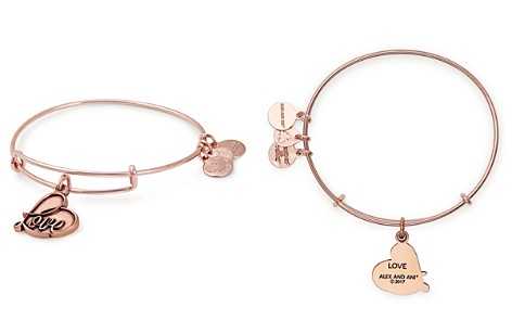 Alex and Ani Love Expandable Wire Bangle - Bloomingdale's_2