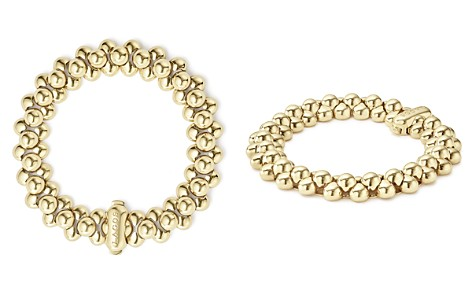 LAGOS Caviar Gold Collection 18K Gold Bold Beaded Bracelet, 14mm - Bloomingdale's_2