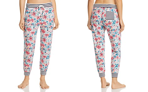 Jane & Bleecker New York Floral Striped Jogger Pants - Bloomingdale's_2