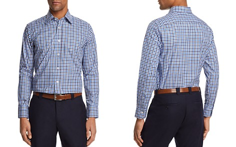 Canali Check Regular Fit Button-Down Shirt - Bloomingdale's_2