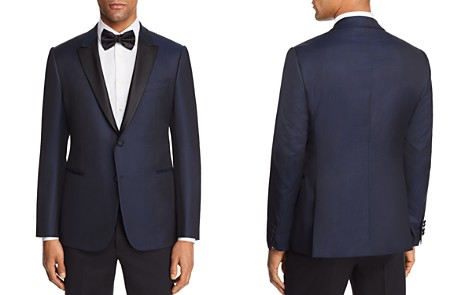 Emporio Armani Tonal Dotted Slim Fit Tuxedo Jacket - Bloomingdale's_2