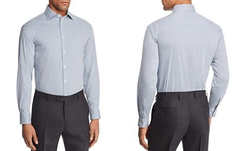 Emporio Armani Multi Color Check Slim Fit Button-Down Shirt - Bloomingdale's_2