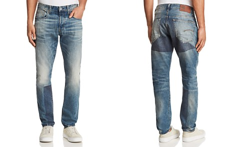 G-STAR RAW 3301 Prestored New Tapered Fit Jeans in Medium Age - Bloomingdale's_2