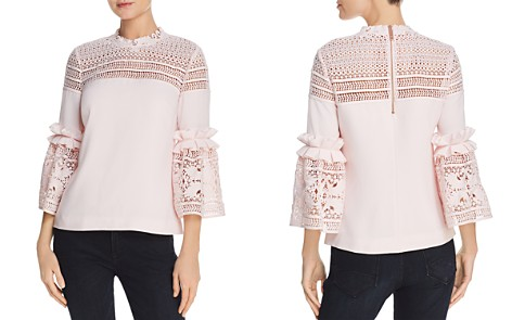 Ted Baker Poppyy Lace-Inset Top - 100% Exclusive - Bloomingdale's_2