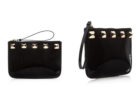 Giuseppe Zanotti Patent Leather Studded Wristlet - 100% Exclusive - Bloomingdale's_2