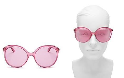 Gucci Women's Monocolor Round Sunglasses, 59mm - Bloomingdale's_2