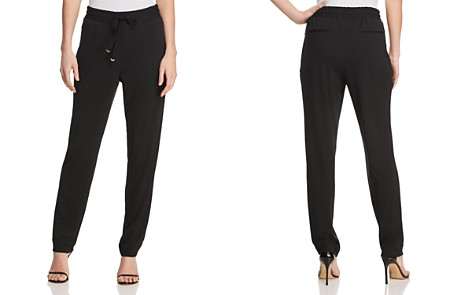 Donna Karan New York Icons Tapered Drawstring Pants - Bloomingdale's_2