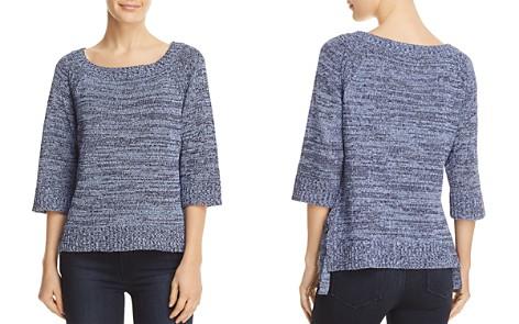 Three Dots Marled Side Tie Sweater - Bloomingdale's_2