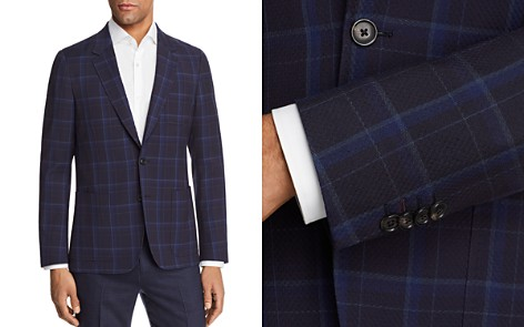 Paul Smith Large Scale Check Unconstructed Slim Fit Sport Coat - Bloomingdale's_2